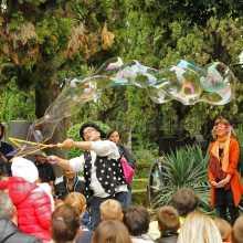 Mago delle bolle al Castello di Conegliano
