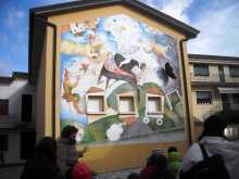 Percorsi ed affreschi a sarmede con Calabrò